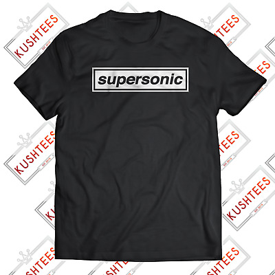 Oasis Supersonic Liam Gallagher Manchester Madchester Indie Music T-shirt • 9.98£