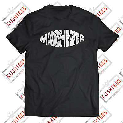 Madchester Manchester Oasis Stone Roses Happy Mondays Indie Music T-shirt • 9.98£