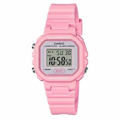 $ CDN20.83 • Buy Casio LA20WH-4A1,  Women's Digital Pink Resin Watch, Chronograph, Alarm