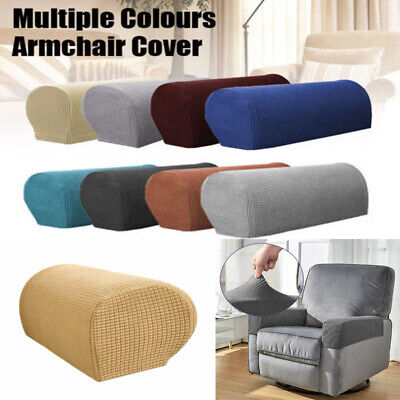 £6.99 • Buy Universal Chair Arm Protector Cover Sofa Couch Armchair Covers Armrest Stretch