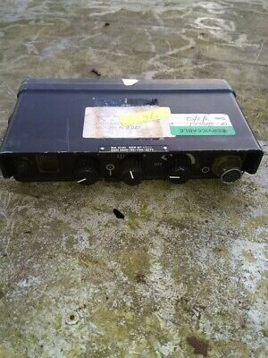 Racal Cougar Radio Extended Control Unit -- Ecu • 37.50£