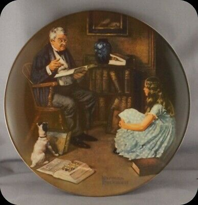 $ CDN24.99 • Buy Lot Of Five Norman Rockwell Collector Plates From The Heritage Collection