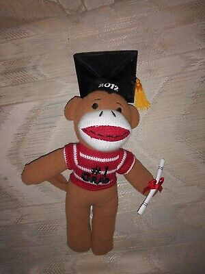 $ CDN17.01 • Buy Dan Dee Sock Monkey 2012 #1 Grad Plush 10  Graduation Stuffed Animal...