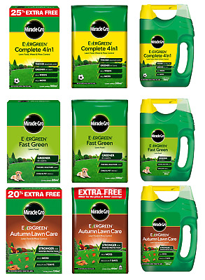 £11.99 • Buy Miracle-Gro Evergreen Complete 4 In 1 Thicker Fast Green Tougher Lawn Feed