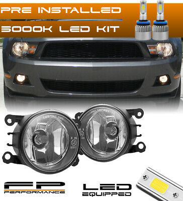 $45.66 • Buy For 05-12 Ford Mustang 4F9Z-15200-AA Direct Replacement Fog Lights Assembly +LED
