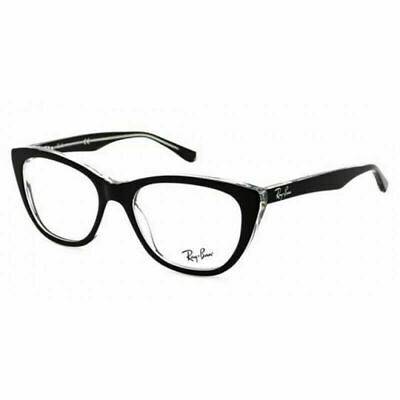 $59.99 • Buy New  Ray Ban Eyeglasses RX5322 2034 53MM Eyeglasses Optical Black Frames