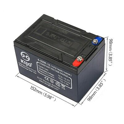 AU65.99 • Buy 12V 14AH SLA Lead Acid Battery 6-DZM-12 Rechargeable For Eaton MGE UPS NBN Alarm