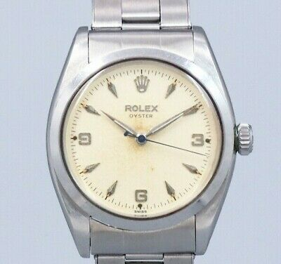 $ CDN7926.60 • Buy ROLEX OYSTER 6426 Original Explorer Dial Manual Vintage Watch 1959's