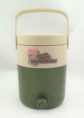 $23.74 • Buy Coleman Team Realtree Water Cooler Thermos Jug 2 Gallon 5592A Green Beige
