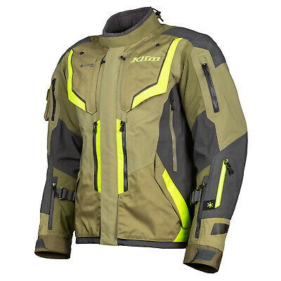 $ CDN1529.11 • Buy Klim Badlands Pro Sage Hi-Vis Textile Motorcycle Jacket
