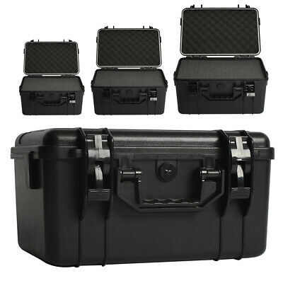 £65.95 • Buy Protective Portable Carry Case Plastic ABS Box Travel Flight Box Tool Protector