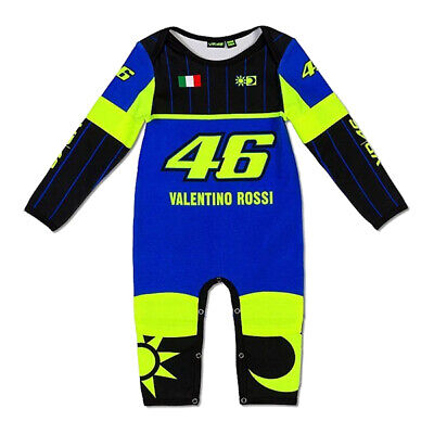 £22.95 • Buy NEW 2020 VR46 Valentino Rossi Moto GP YAMAHA 46 Baby Gro Suit Overall OFFICIAL