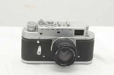 Zorki 4- Classic 35mm Rangefinder Camera- Uses Leica M39 Mount Lenses  • 65£