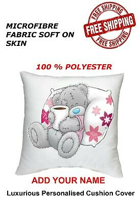 £6.99 • Buy Personalised Me To You Tatty Teddy Bear Cushion Cover 40x40 Cm All Occasion Gift