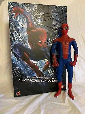 $230 • Buy Hot Toys Amazing Spider-Man Spiderman With Andrew Garfield Head MMS179