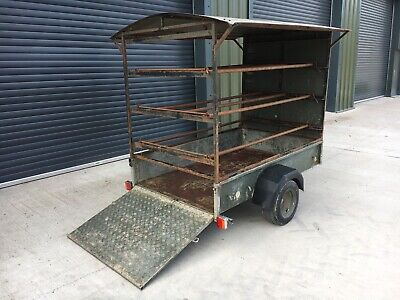 Ifor Williams Trailer P6E, Ramp/Drop Tail Gate,Pheasant, Pigeons, Coffee Van • 680£