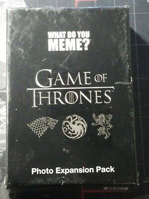 AU9.91 • Buy What Do You Meme? Game Of Thrones Expansion Pack - Sealed - New