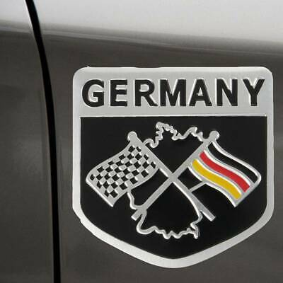 $ CDN1.58 • Buy 1x New Metal German Flag Decal Emblem Grille Badge Racing Car Sticker Decoration