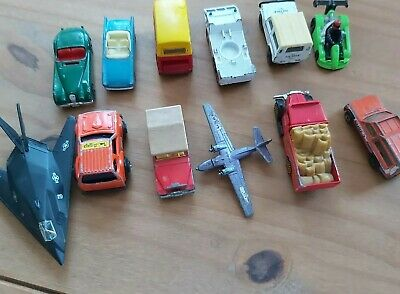 Job Lot Of Vintage Toy Cars And Planes • 4.68£