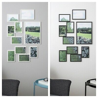 AU24.99 • Buy IKEA Hanging Wall Collage Photo Picture Frame Multiple Display Decor White