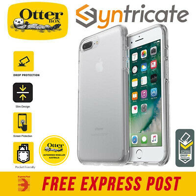 AU59.95 • Buy Otterbox Symmetry Clear Stylish Case For Iphone 8 Plus 7 Plus - Clear Crystal