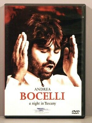 $53.95 • Buy Andrea Bocelli - A Night In Tuscany (DVD 1998) Sarah Brightman And Nuccia Focile