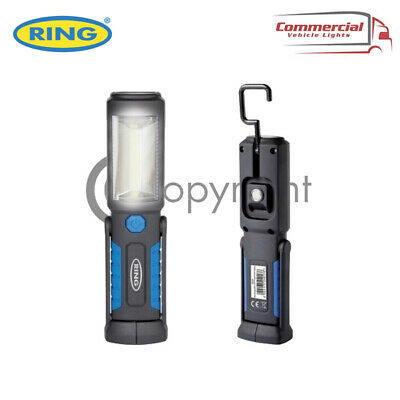 Ring Rechargeable Cob Led Lamp Torch Emergency Work Light Magnetic Flexible Usb • 11.89£