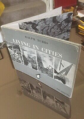LIVING IN CITIES 1942 NEW TOWNS Urban Planning World War II Infrastructure Town  • 14£