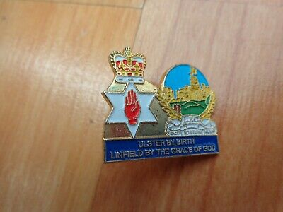 £8.99 • Buy Linfield Fc 'ulster By Birth, Linfield By The Grace Of God' Pin Badge Loyalist
