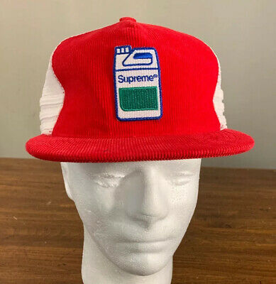 $ CDN117.97 • Buy Supreme Jug Mesh Back 5-panel Red Hat Os Fw19 (in Hand) Brand New Authentic