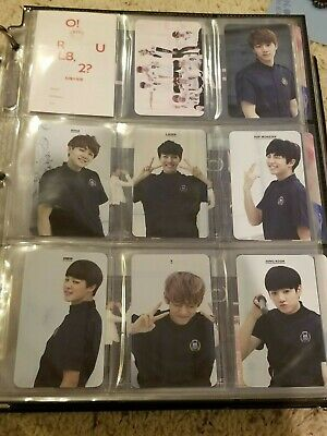 $11 • Buy BTS Official Korean Photocards (ORUL82 To MOTS: Persona & 2018 Memories DVD)