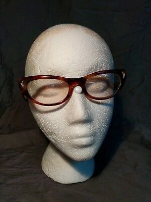 $59.95 • Buy Vintage Bausch & Lomb Ray Ban Alita Cats Eye Light Prescription Glasses Frames