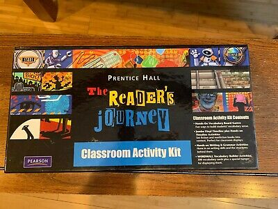 $69.99 • Buy Prentice Hall The Readers Journey Classroom Activity Kit- New- Missing Spinner