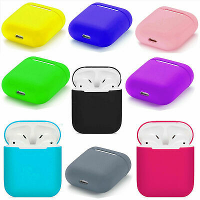 $ CDN5.84 • Buy Apple AirPods Case Protect Silicone Cover AirPod Earphone Skin Charger