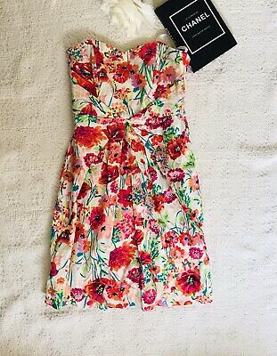 AU15 • Buy Forever New Size 6 Dress Strapless Sweetheart Floral Races Cocktail Dress