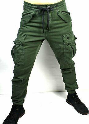 $79.95 • Buy True Religion Men's Military Green Relaxed Cargo Jeans - M19HD83Y1G Size 28