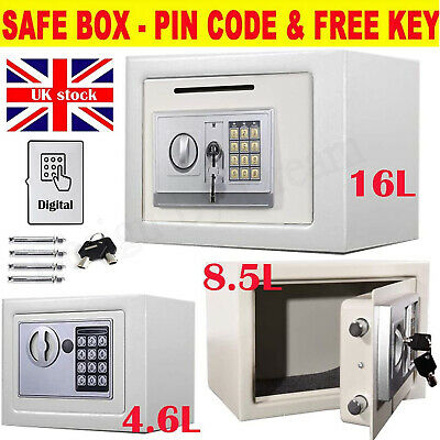 £39.50 • Buy Large Electronic Password Security Safe Money Cash Deposit Box Office Home AAA+