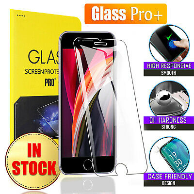 AU4.25 • Buy 2X For Apple IPhone SE 20 XR XS 13 12 11 Pro Max Tempered Glass Screen Protector