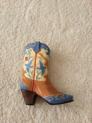 Just  The  Right  Shoe  'home  On  The  Range'  25095  Miniature  Cowboy  Boot  • 4.70£