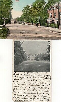 2 Old Postcards Of Ascot, Berkshire • 0.99£