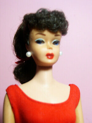 $ CDN476.65 • Buy Vintage Beautiful Barbie Ponytail # 6 Model # 850 Brunette OSS Red Mules ExcCond