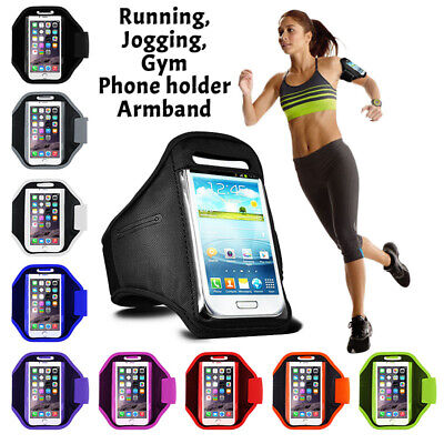 ARMBAND Sports Running Jogging Gym Phoneholder Case Bag Cover For SAMSUNG GALAXY • 5.45£