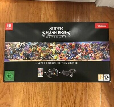 $200 • Buy Super Smash Bros Ultimate Collectors Limited Edition Nintendo Switch UK Edition