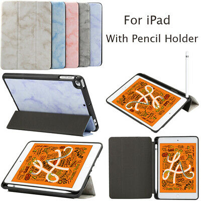 AU21.21 • Buy With Pencil Holder Fold Stand PU Leather Case Cover For IPad Mini 4 5 Air 3 Pro