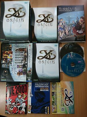 AU68 • Buy PC Ys Origin (Limited Edition) (with Extra Expansion Disc) RPG GAME NIHON FALCOM