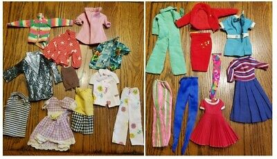 $ CDN18.50 • Buy Vintage Lot Of Unmarked/Untagged Barbie Doll Clothes