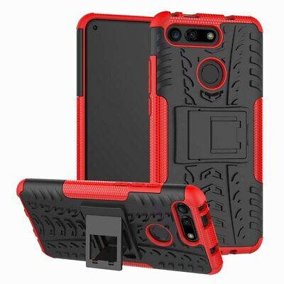 £13.86 • Buy For Huawei Honour View 20 Case Rubber Anti-knock Heavy Duty Hybrid Protective
