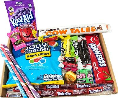 American Sweets Gift Box MINI - USA Candy Hamper - Jolly Rancher - Airheads • 7.99£