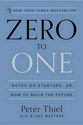 AU49.25 • Buy NEW Zero To One By Peter Thiel Hardcover Free Shipping