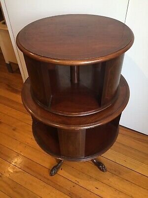 AU650 • Buy Antique Mahogany Revolving Bookcase Quality Item